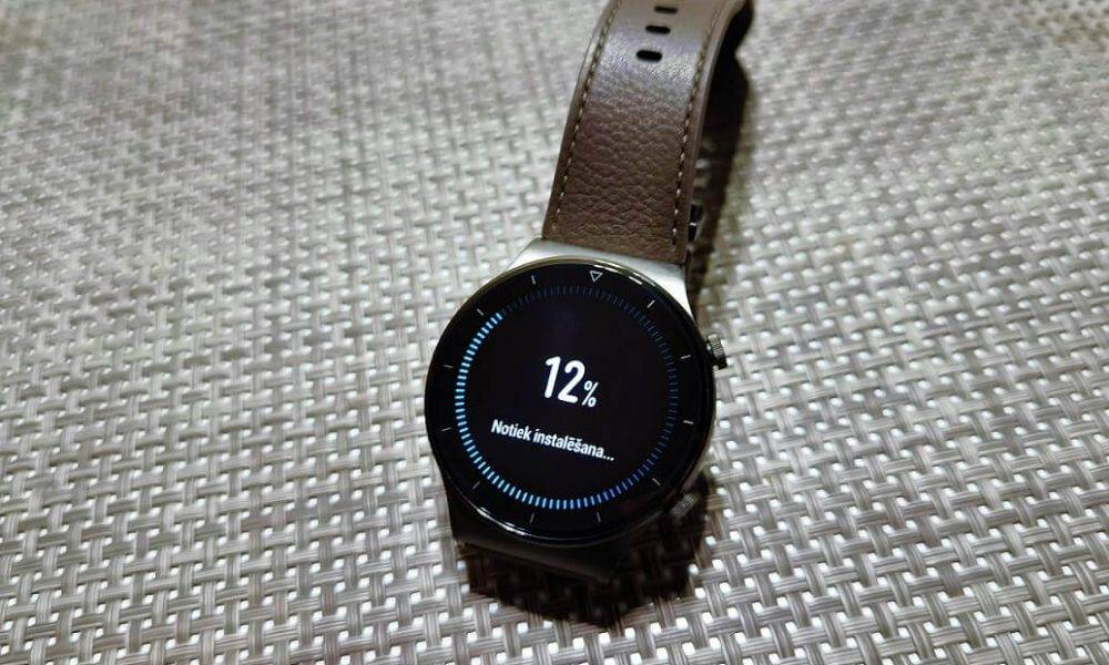 Huawei Watch GT 2 atjauninājums