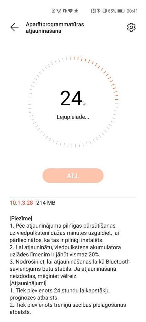 Huawei health atjauninajums Huawei Watch GT 2
