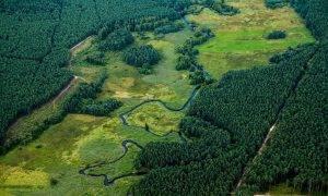 AST aktualizē pārvades tīkla ģeotelpisko informāciju, veicot lāzerskenēšanu no helikoptera