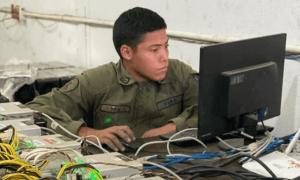 Venecuēlas armijas kriptovalūtu mainings
