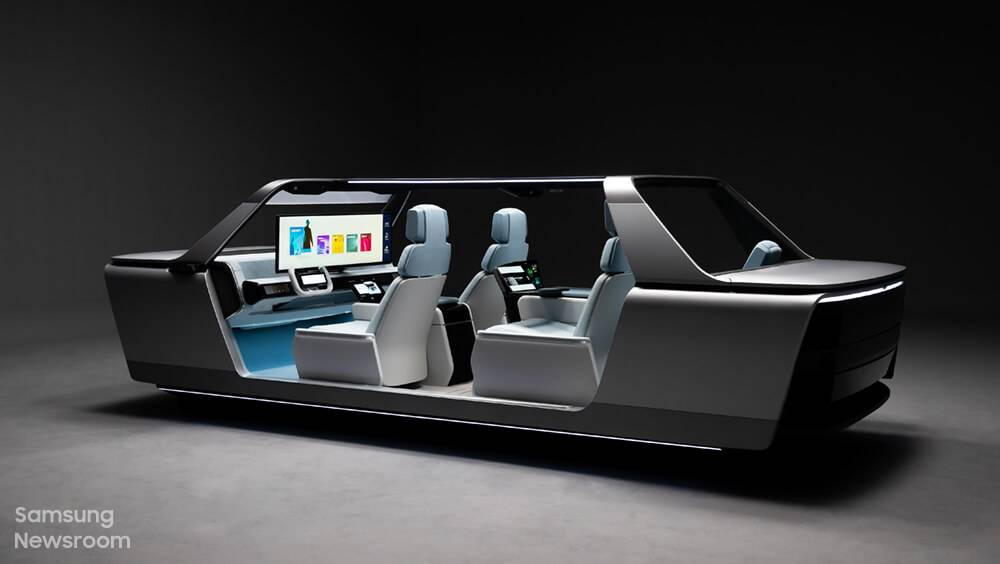 Digital Cockpit 2021: Samsung