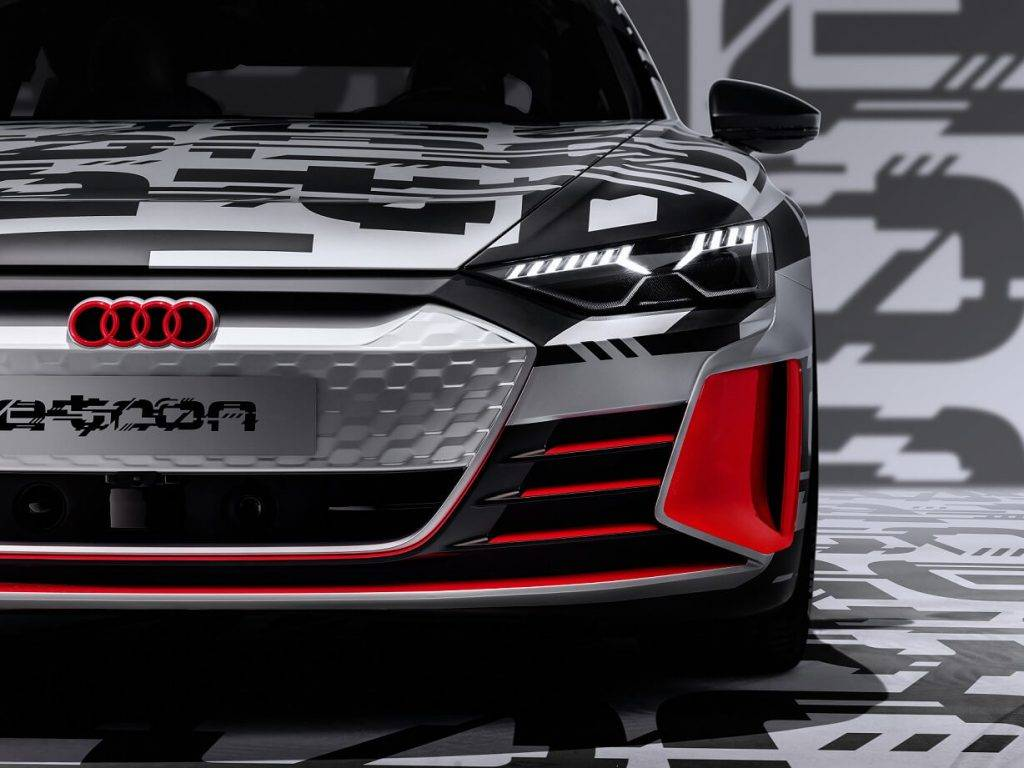 Elektriska Audi e tron GT pirmizrade gaidama jau februari 2