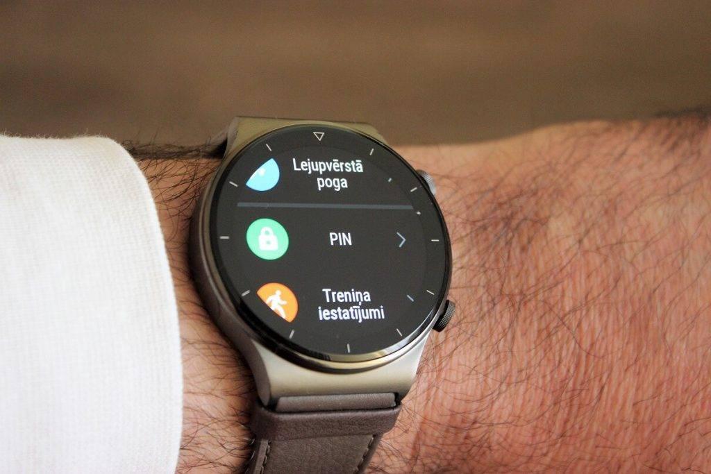 Huawei Watch GT2 Pro PIN kods