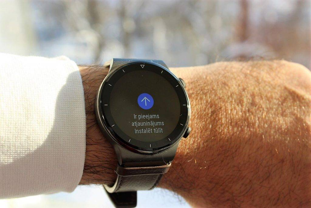 Huawei Watch GT2 Pro atjauninajums