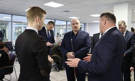 Lukašenko un bitkoina mainings