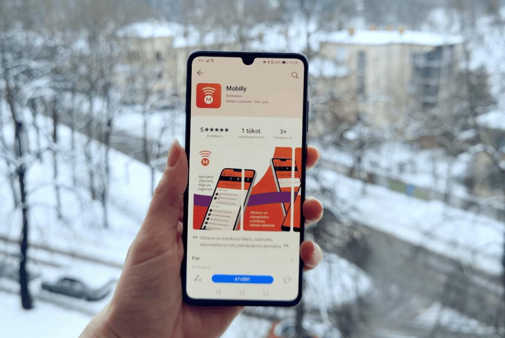 Mobilly lietotne pievienojas Huawei AppGallery
