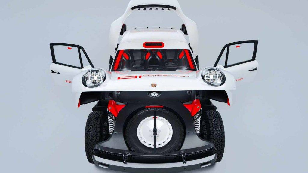 Porsche 911 safari open front