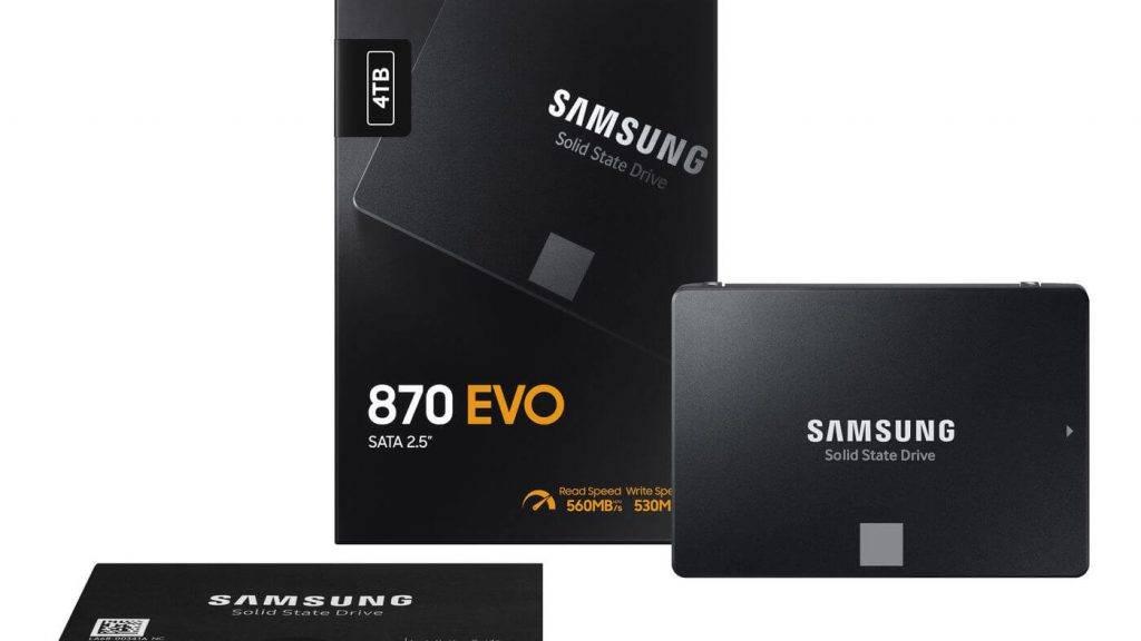 Pasaulē pārdotākais SSD: Samsung iepazīstina ar jauno 870 EVO modeli