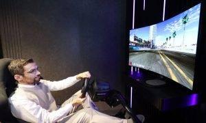 LG OLED ielocītais displejs