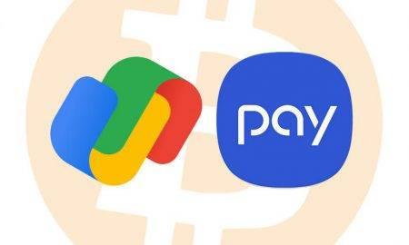 Google Pay un Samsung Pay būs iespējams maksājumus veikt ar kriptovalūtu