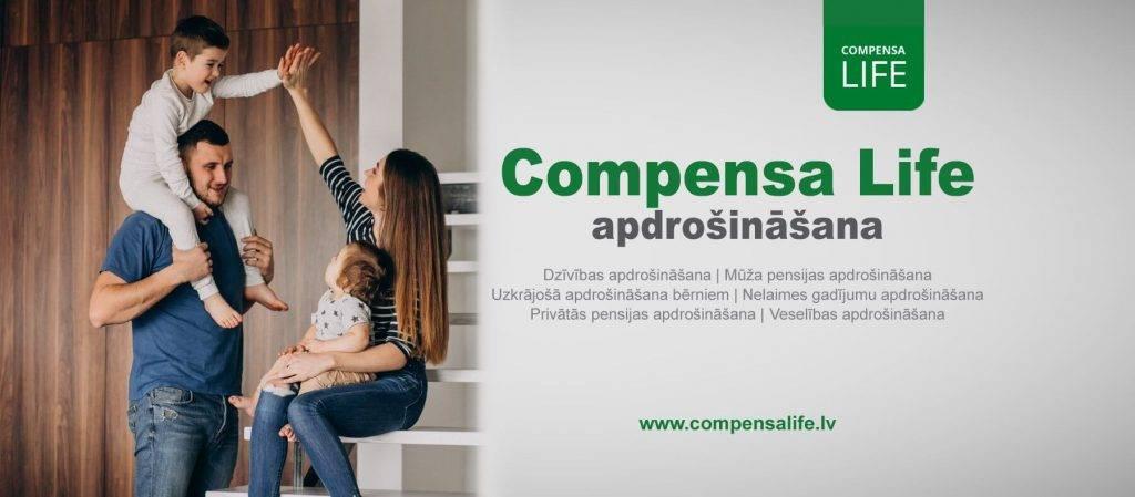 Compensa Life veselības apdrošināšana pieejama arī mobilajā lietotnē
