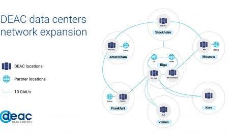 DEAC paplašina partneru datu centru tīklu ar jaunu lokāciju Viļņā un iegulda līdzekļus Rīgas datu centra modernizācijā