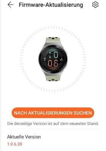 Huawei Watch GT2e Update January