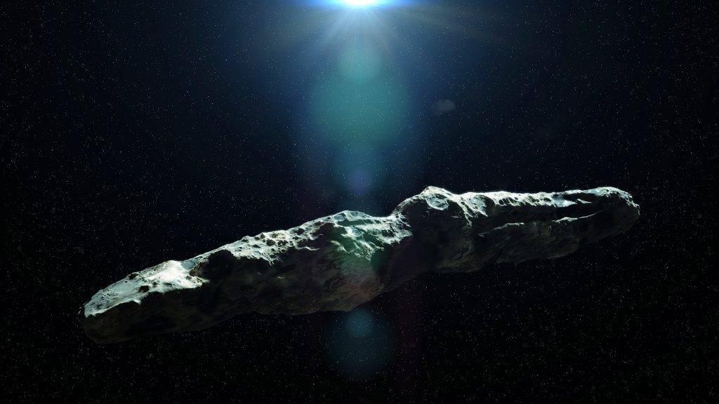Vai asteroīds Oumuamua varētu būt citplanētiešu kuģis?
