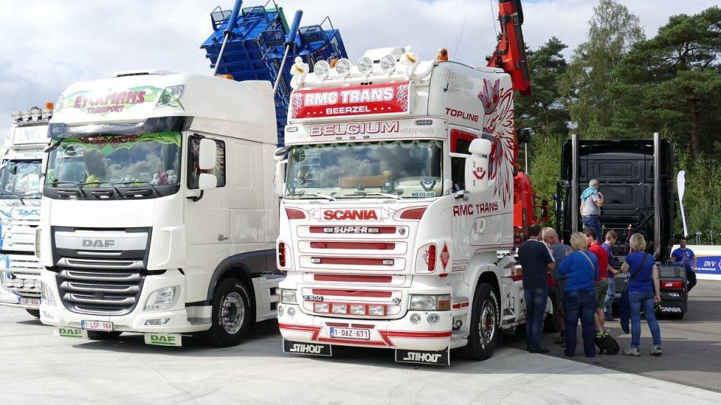 Kravas auto iebrauksana Latvija
