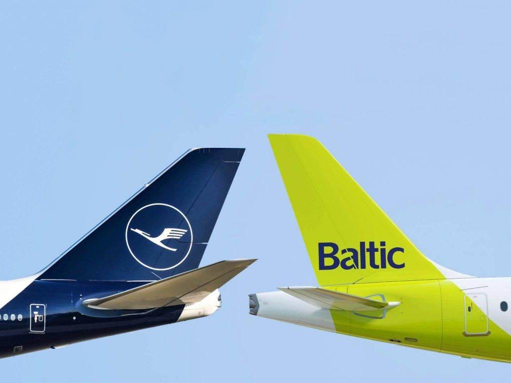 Lufthansa un Airbaltic