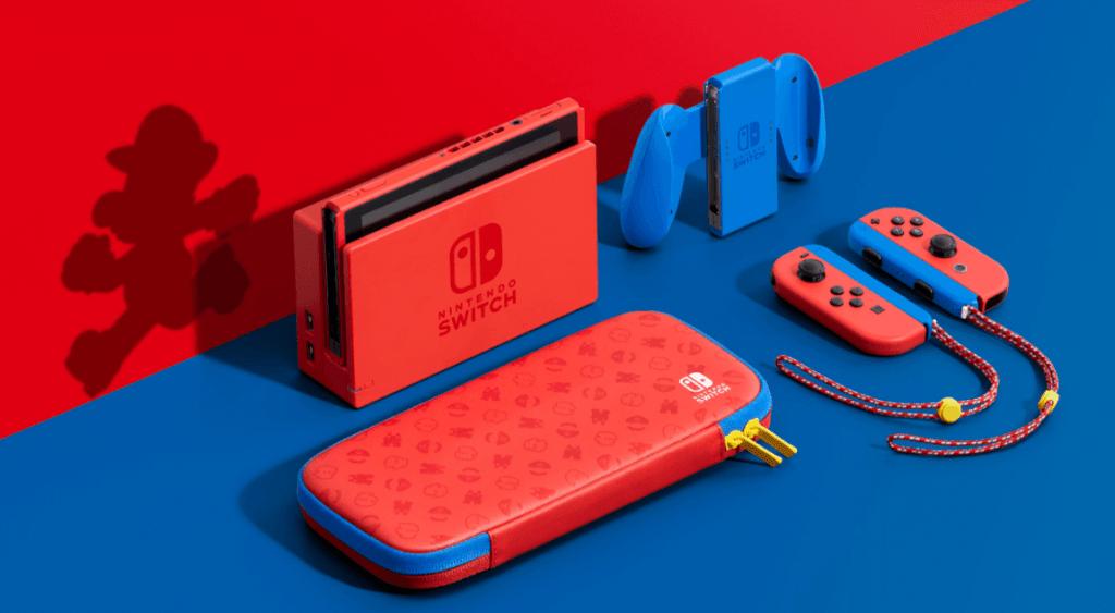 Sākas Nintendo Switch Mario Edition tirdzniecība