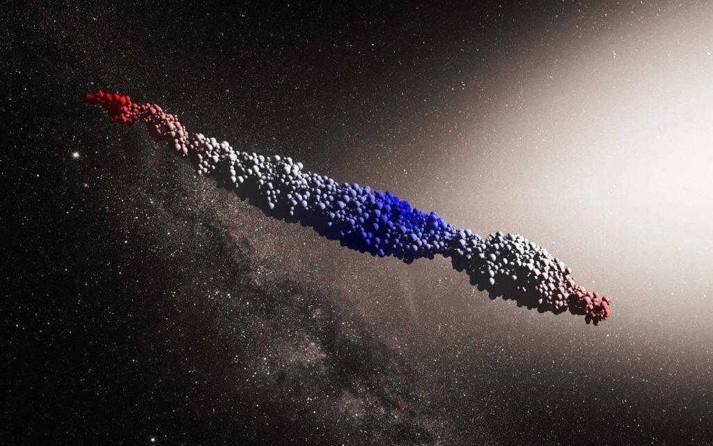Vai asteroīds Oumuamua varētu būt citplanētiešu kuģis