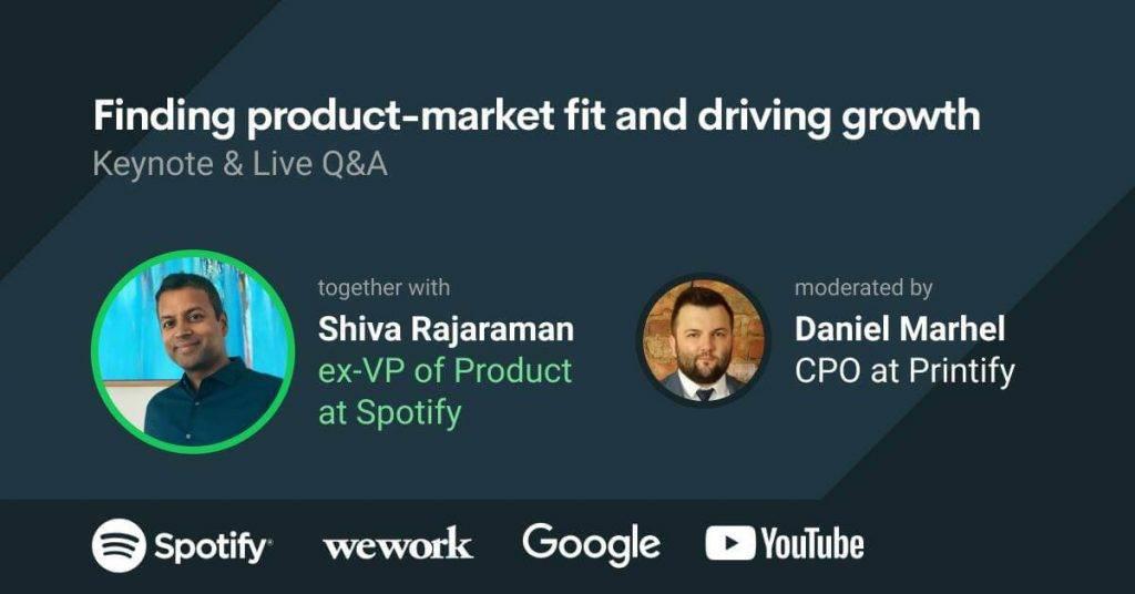 Printify Tech Talks ar bijušo Spotify viceprezidentu Shiva Rajamaran
