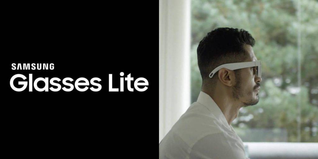 Brilles Samsung Glasses Lite un AR Glasses
