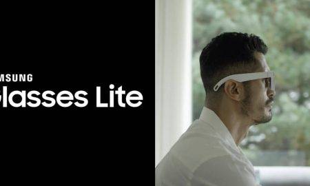 Brilles Samsung Glasses Lite un AR Glasses