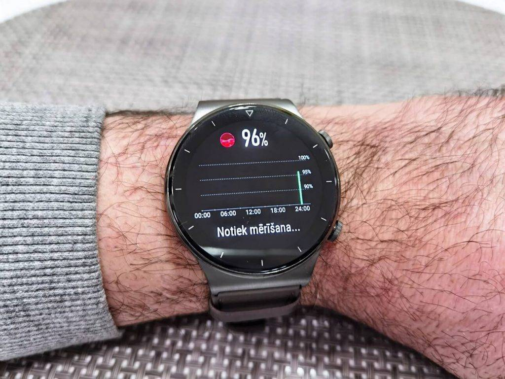 Huawei Watch GT2 Pro SPO2 tests