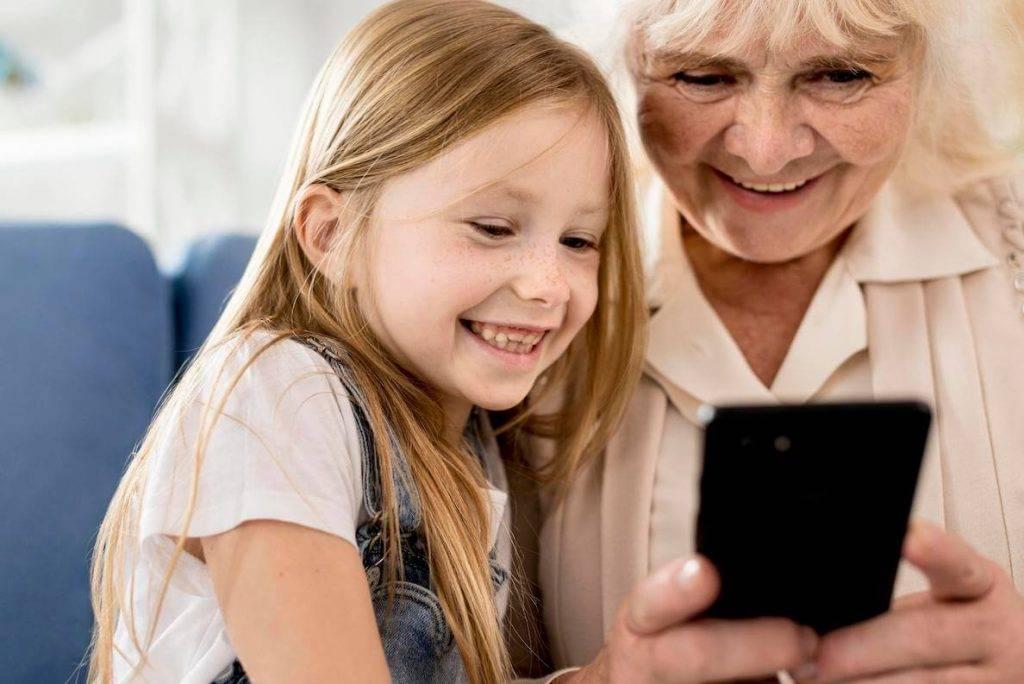 Visstraujakais tehnologiju paterina pieaugums ir senioru un jauniesu vidu