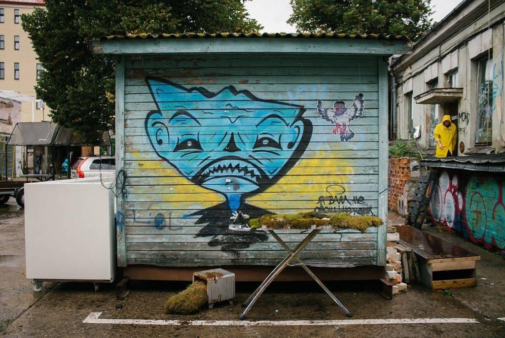 WasteArt Tallinas ielas kvartala