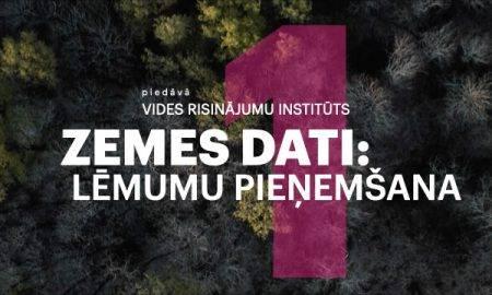 """Vides risinājumu institūts piedāvā miniraidījumu """"Zemes dati"""" – par datu sniegtajām iespējām"""