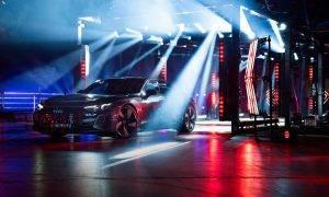 Audi e-tron GT piedzīvo vērienīgu pasaules pirmizrādi