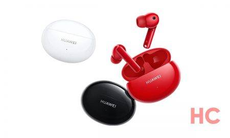 Jaunākās Huawei austiņas Freebuds-4i