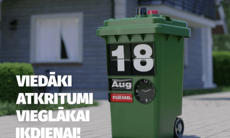 """Ērtākai atkritumu pārvaldībai izstrādāta lietotne """"Eco Baltia"""""""