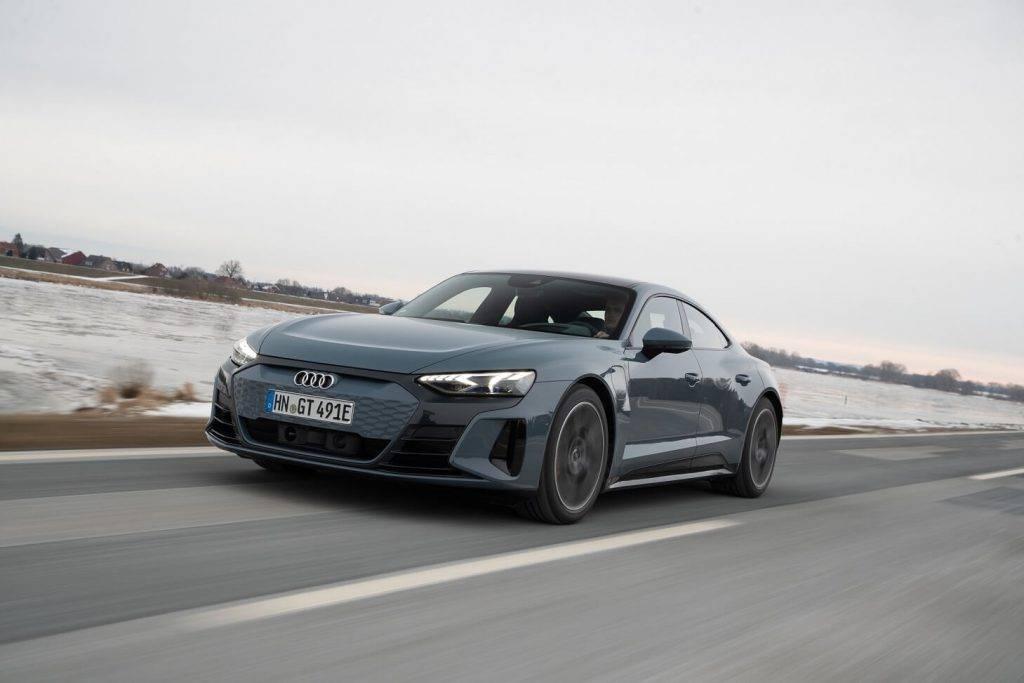 Audi RS e-tron GT iepriekspārdošana