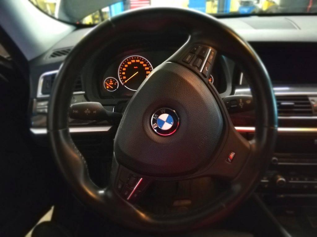 BMW stures zadziba