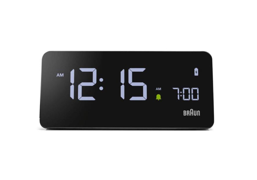 Braun BC21 pulkstenis modinātājs