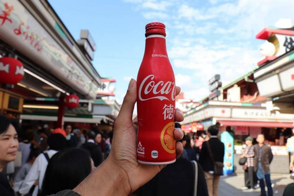 Cocacola Japana