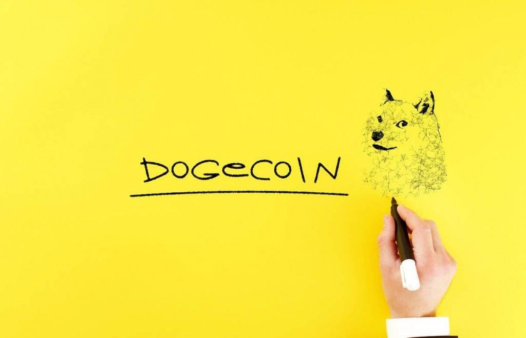Dogecoin kriptomātos ASV