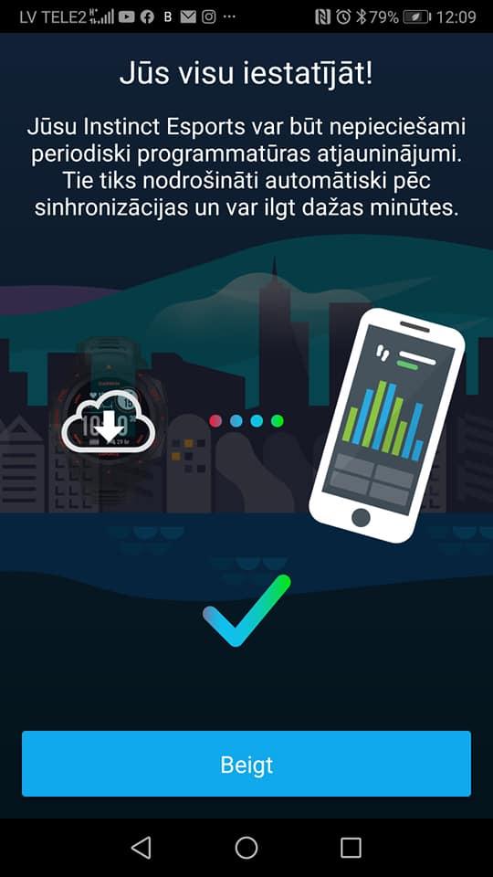 Garmin Connects lietojumprogramma