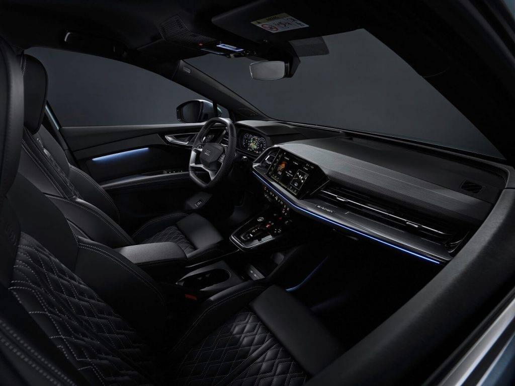 Audi Q4 e-tron salons