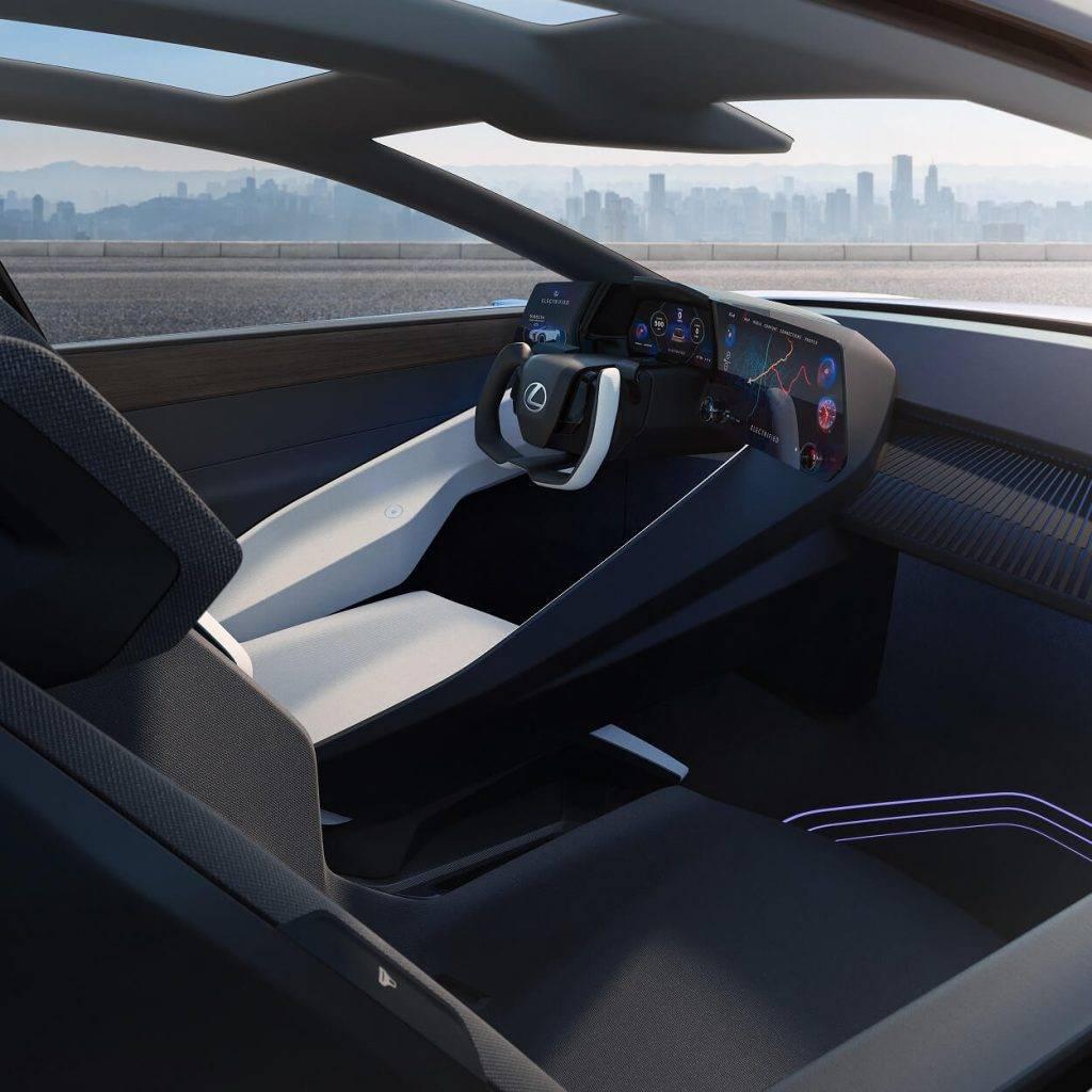 """""""Lexus"""" zīmola nākotnes vīzija un jaunais konceptauto LF-Z Electrified"""