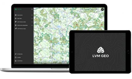 """LVM GEO Mobile"" lietotnei jauns dizains"