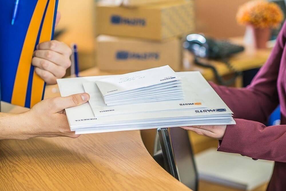 Juridiskās personas Latvijas Pasts aicina pieteikties pakalpojumam Pastnieks birojā