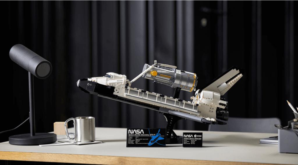 Lego sadarbiba ar Nasa