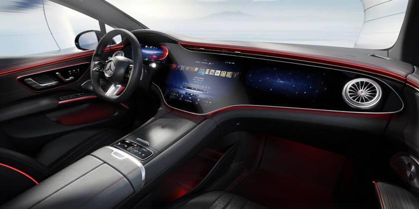 MBUX Hyperscreen Mercedes Benz