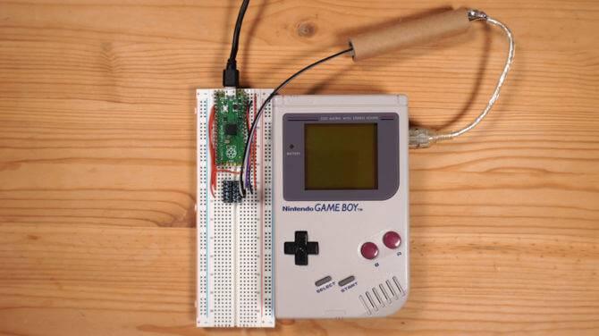 Nintendo Game Boy kripto mainings