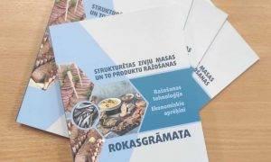 Latvijas Lauksaimniecības universitāte izdod rokasgrāmatu, kā mācību materiālu inovatīvu zivju produktu ražošanai