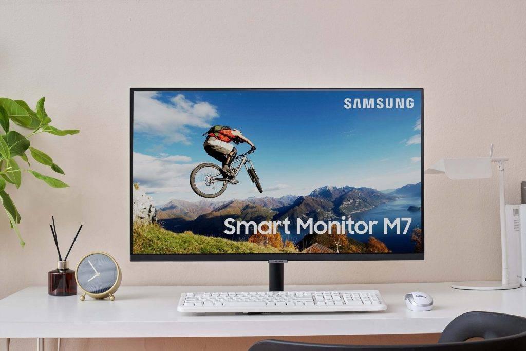 Jaunais Smart Monitor – viedais atbalsts darbam, mācībām un izklaidei mājās