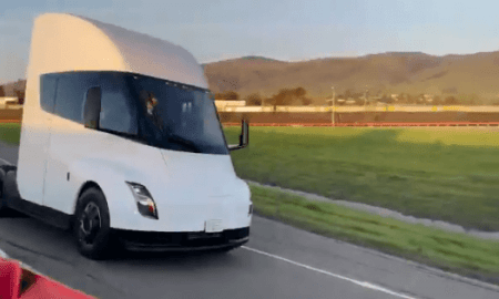 Tesla Semi video