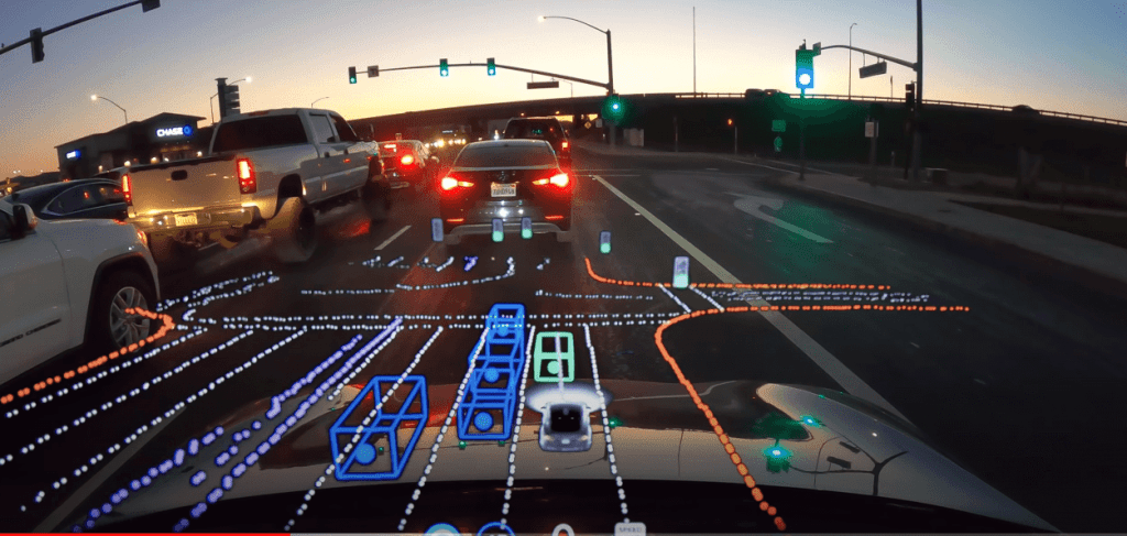 Kā ceļu redz Tesla