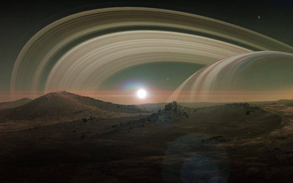 Titans Saturna satelits